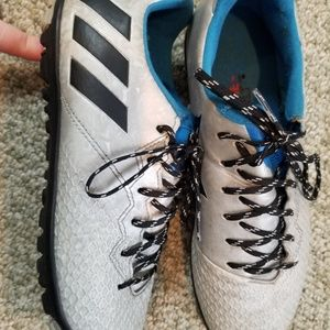 Adidas soccer shoes, size 7